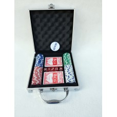 Poker 100pc Con Valigetta